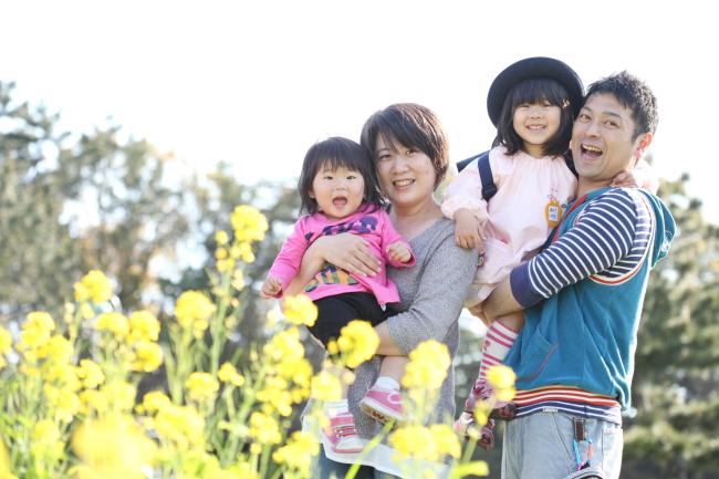 家族写真 フォトスタジオ