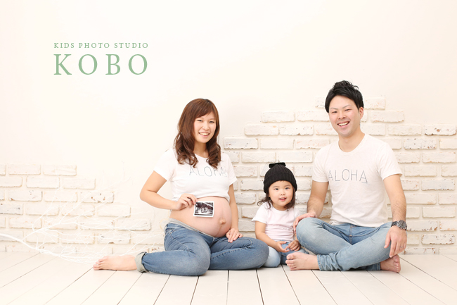 マタニティ家族写真