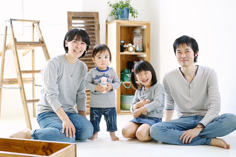 家族写真 戸田公園フォトスタジオ